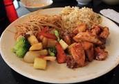 Japanese & Chinese Food