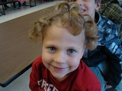 Oct. 1 - Crazy Hair Day