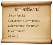 Intolerable Act (pg. 168-169)