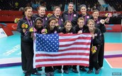 USA Sitting Volleyball Team Won Silver Medals
