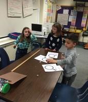 Super Second Graders conduct lab experiments!