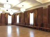 Просторный зал для практики