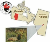 this is where elk island national park is located