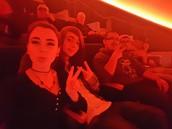 Group selfie in the Planatarium