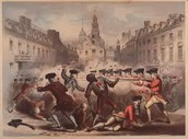 What happened during The Boston Massacre