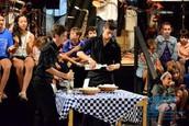Le Grecque démonstrations culinaires