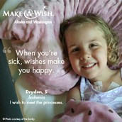 """""""When you're sick, wishes make you happy!"""""""