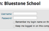 Here's where you use your login in.