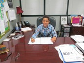 Nicholas Moreira--Principal of the Day