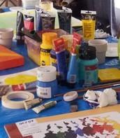 """Längtar du efter mer färg i livet?  Vill du måla """"fast du inte kan""""? Eller målar du redan och vill utveckla ditt skapande"""