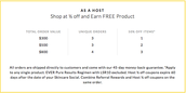 Earn Discounted Product!