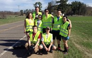 Put pics of roadside cleanup and other community service here