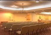 We offer a large service room