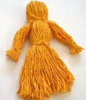 Mama's  yarn  doll