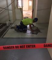 Terrazzo Floor Work