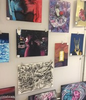 Artists shown above: Billy Mattern, Olivia Seo, Tracey Breen