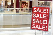 4. Shop smart and look out for sales when you need something