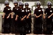 Riot police- Mexico