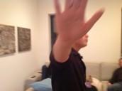 Dan being shy