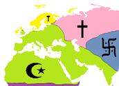 Where Islam is practiced