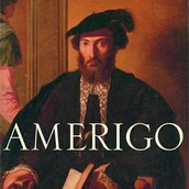 A portrait of Amerigo Vespucci