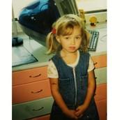 Arabella war schon als Kleinkind unglaublich niedlich!