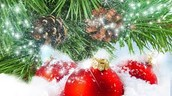 Winter Holiday Lunch- Tuesday, December 9 for Grades K, 1 & 5