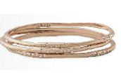 Rhea Bangles - Rose Gold were $79 now $39.50