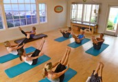 Learn basic mat Pilates and help out two great organizations!