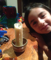 Harper With Her Candle