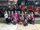 Haddonfield Fire Dept. Visit
