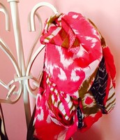 Pink Union Square Scarf !25.00