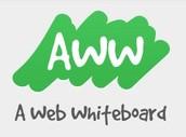 A web whiteboard!