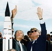 Thanks to John F. Kennedy The space program has succeeded