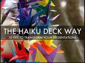 Why Haiku Deck? Watch this.