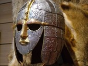 A helmet the Saxons would wear