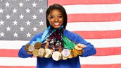 all of her medals