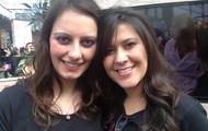Raquelzinha e eu