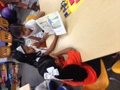 TK & 2nd Grade Buddies Reading together
