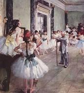 BALANCE- Edgar Degas