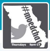#MoEDchat every Thursday night