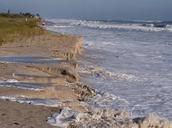 beach erosion video