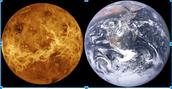 See the resemblance? Venus amd Earth
