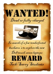 WANTED: Laptop Users