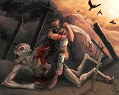 battle between Beowulf And Grendel
