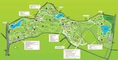 Botanic Garden map