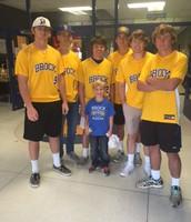 Brock Baseball came to visit!