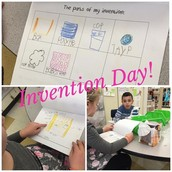Invention Day for Ms. Sicher's  Kindergarteners