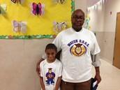 Mr. Burton and son