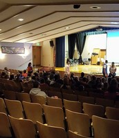 HS Students Speaking to Bon Air 8th Graders